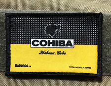 Cohiba Cigar Label Morale Patch Tactical ARMY Hook Military USA Badge Flag