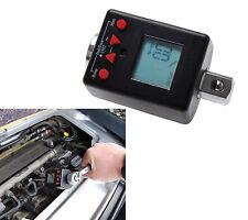 BGS Herramientas PRO+ Digital adaptador de torque,6,3 1/4,Rango medición 6-30 Nm
