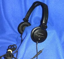 +NEW/EARPADS  ! SONY MDR-V150 HEADPHONES BLACK DYNAMIC DJ STUDIO