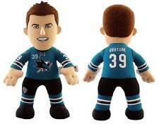 """NWT San Jose Sharks NHL #39 Logan Couture 10"""" Plush Doll by Bleacher Creatures"""
