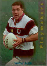 1995 NPC NZ Rugby Union Card Playmakers No5 Walter Little