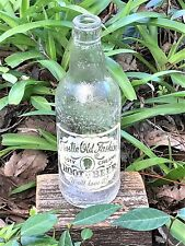 Vintage Frostie Old Fashioned Root Beer ACL Soda Bottle 12 Oz Wharton Texas