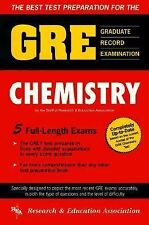 GRE Chemistry (REA) - The Best Test Prep for the GRE (Test Preps), Staff of Rese