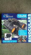 binoculars 10x50 with case and lens caps coated lenses lighweight body