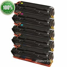 5PK Toner Cartridge Color Set For HP CC530A - CC533A 304A LaserJet CM2320 CP2025