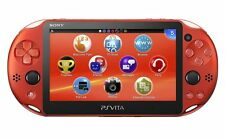 New Sony PCH-2000ZA26 PlayStation PS Vita Wi-Fi Console Metallic Red From Japan