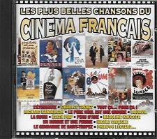 CD album: Compilation: Les Plus Belles Chansons du Cinema Français. Polygram. X