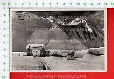 51848 CARTOLINA 1943 VERBANIA RIALE VAL FORMAZZA INVERNO NEVE SCIATORE