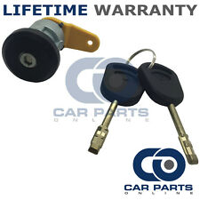 FRONT LEFT DOOR LOCK BARREL + 2 KEYS FOR FORD FIESTA MK4 1989-2002