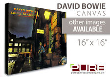 DAVID BOWIE The Rise and Fall of Ziggy Stardust and the Spiders from Mars CANVAS