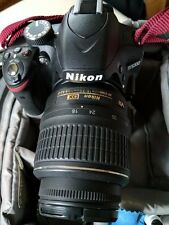 Nikon D D3200 w/ 18-55mm. 5k clicks. Comes with Wireless adapter and Macro rings