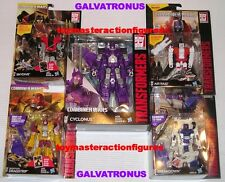 TRANSFORMERS 2015 COMBINER WARS GALVATRONUS Cyclonus + 4 Deluxe Figures IN STOCK