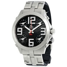 Jacob & Co Five Time Zone Stainless Steel Mens Watch JCM-82T