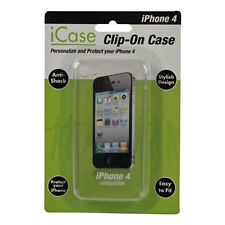 Custodia telefono Iphone 4 4g Hard Case cristallo chiaro antishock elegante Hard Wear