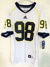 Adidas Premier NCAA Jersey U OF MICHIGAN Wolverines #98 White sz L