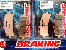 PER KTM RC8 R 1190 2012 12 PASTIGLIE ANTERIORE SINTERIZZATE FRENO BRAKING CM55 S