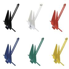 Greenfield Products 669-11-R (17'-22' Boat) Fluke Anchor 11lb - Royal Blue