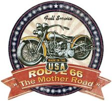 ROUTE 66 - THE MOTHER ROAD -FULL SERVICE-  STAHLSCHILD BLECHSCHILD 39X35 6470