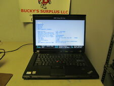 IBM LENOVO THINKPAD T500 CORE 2 DUO LAPTOP (P8400 2.26GHZ, 2GB RAM) PN# 2241-W3V