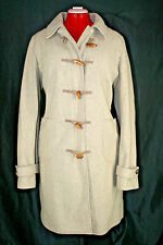 J.Crew Oatmeal Beige Wool Winter Coat with Wooden Buttons - size XL Tall TXL