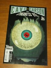 CAVE CARSON HAS A CYBERNETIC EYE #1 DC'S YOUNG ANIMAL VARIANT NM (9.4)