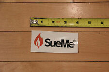 NEW Sue Me Match Flame Bicycle Sticker Decal for road mountain bikes