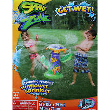 *NEW* Spray Inflatable Spinning Spraying Sunflower Sprinkler - Outdoor Water Fun