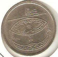 Offer  Malaysia Bunga Raya 1995 50sen coin high grade!