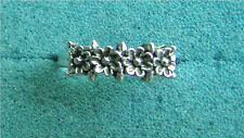 "Silver Tone ""MY BOUQUET"" Ring - Sarah Coventry Jewelry - Sara Cov - Vtg"
