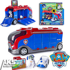 PAW Patrol Mission Cruiser Patroller Exclusive Racer & Mission Card Kids Toy New