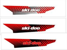 TUNNEL GRAPHICS WRAP SKI DOO BRP REV XP XM XR XS Z summit 120 137 154 163 red