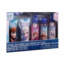 Bath and Body Gift Sets Girls Frozen Spa Shampoo Conditioner Lotion 7 PC Disney