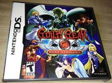 GUILTY GEAR: DUST STRIKERS Nintendo DS Dual Screen *NEW/SEALED!* US USA