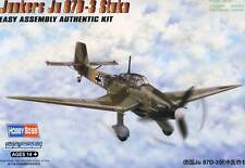 HobbyBoss Junkers Ju-87D-3 87 D Stuka 4. & 9.St.G 77 1943-44 modèle-kit 1:72