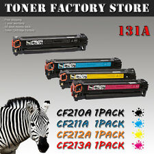 4 Toner Cartridge Set CF210A - 3A 131A Pro 200 For HP Laserjet M251 M276 Printer