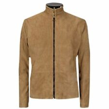 James Bond Brown Suede Daniel Craig Spectre Morocco Blouson Men's Leather Jacket