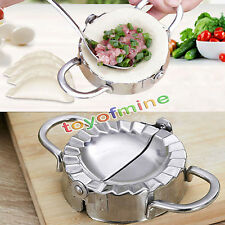 Kitchen Dumpling Mould Dough Press DIY Pastry Maker Samosa Empanada Mold Steel