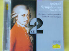 CD MOZART SYMPHONIES N° 35 - 41 HERBERT VON KARAJAN DOUBLE CD NEW