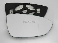 Wing Mirror Glass VW Scirocco coupe 2008-2016 Wide Angle HEAT Right Side #1047