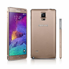 Brand New Samsung Galaxy Note 4 GOLD Lte 32GB Unlocked Smart Phone 1 yr.warranty