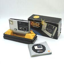80er años kodak disc 4000 con el embalaje original y manual de instrucciones