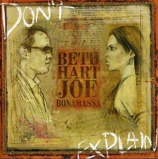 Beth Hart & Joe Bonamassa, Beth Hart - Don't Explain [New CD]