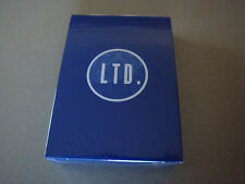 LTD BLUE DECK OF PLAYING CARDS BY ELLUSIONIST - MAGIC TRICKS GAFF BICYCLE POKER