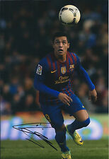 Alexis SANCHEZ Signed Autograph 12x8 Photo AFTAL COA Barcelona La Liga CHILE