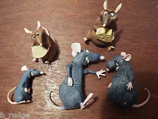 Bundle joblot 5 chunky Disney Ratatouille figure toy playset Remy Emile Django