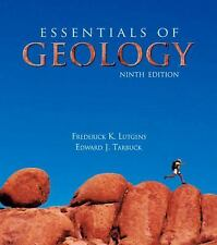 Essentials of Geology, 9th Edition, Tasa, Dennis, Tarbuck, Edward J., Lutgens, F