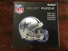 Dallas Cowboys Football Helmet Shaped Puzzle 100 Piece 16 x 16 NEW Sealed NFL
