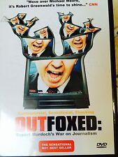 OUTFOXED ~ Fox News / Rupert Murdoch Documentary Expose   UK DVD