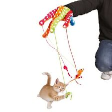 Pet Cat Colorful Glove Play Toy with Pom Pom Mice by TRIXIE