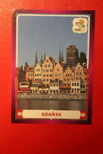Panini EURO 2012 N. 6 GDANSK NEW With BLACK BACK TOPMINT!!